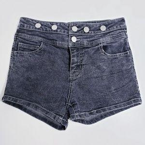 Bongo🛑black denim girls shorts